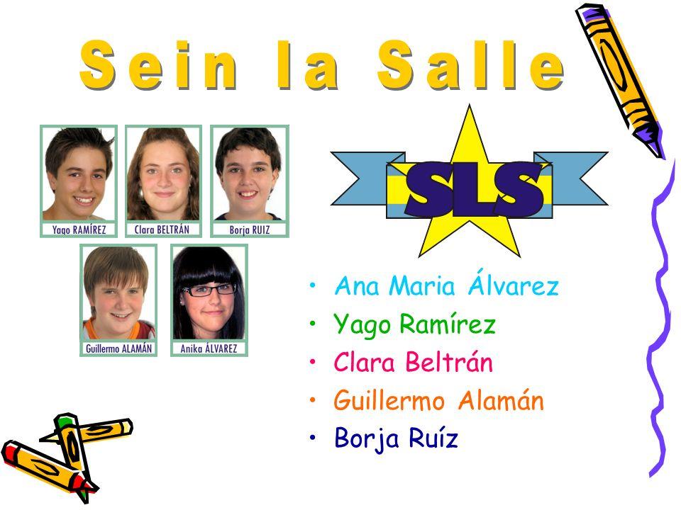 Ana Maria Álvarez Yago Ramírez Clara Beltrán Guillermo Alamán Borja Ruíz
