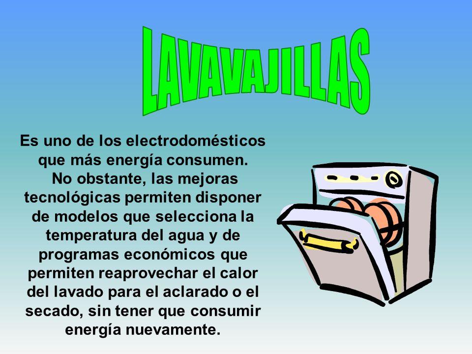 Es uno de los electrodomésticos que más energía consumen. No obstante, las mejoras tecnológicas permiten disponer de modelos que selecciona la tempera