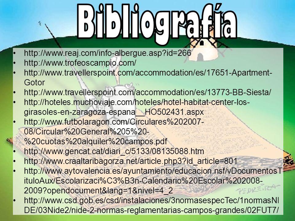 http://www.reaj.com/info-albergue.asp?id=266 http://www.trofeoscampio.com/ http://www.travellerspoint.com/accommodation/es/17651-Apartment- Gotor http