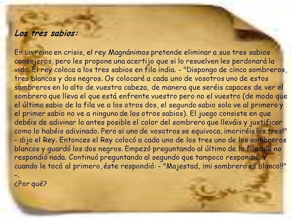 Los ocho panes Cabalgaban, camino a Santiago de Compostela, por el camino dos peregrinos cuando encontraron a un viejo jeque tumbado en el suelo hambriento y sediento.