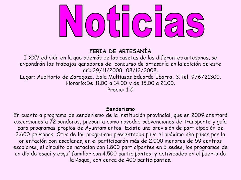 FERIA DE ARTESANÍA I XXV edición en la que además de las casetas de los diferentes artesanos, se expondrán los trabajos ganadores del concurso de arte