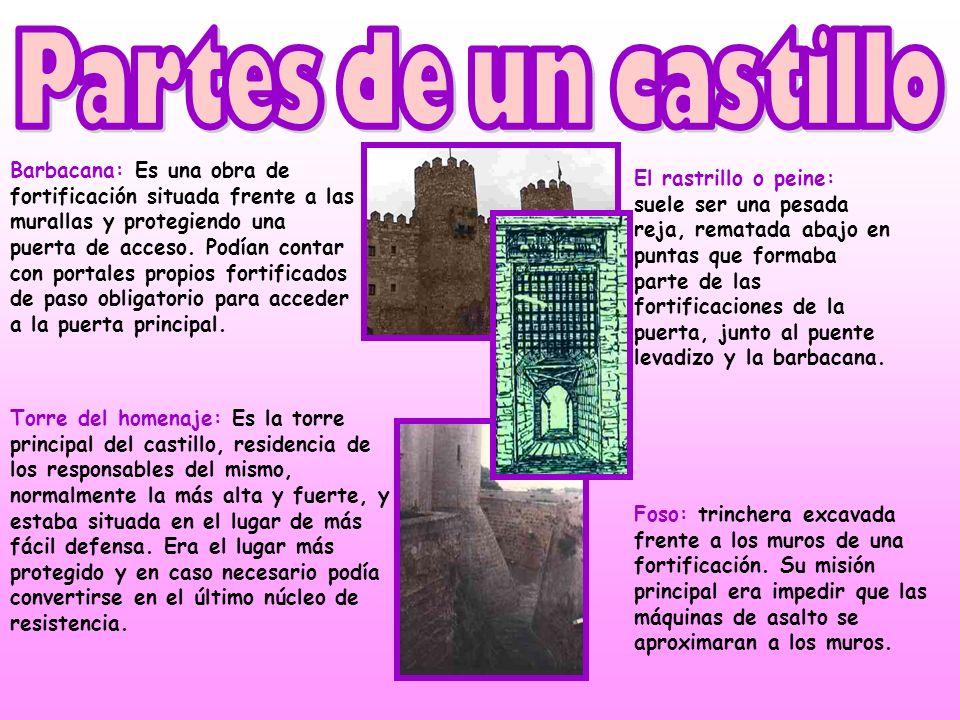 Desde el interior del castillo, se accedía a las zonas residenciales, una de ellas, reservada para la familia del señor. En la gran sala central, se c