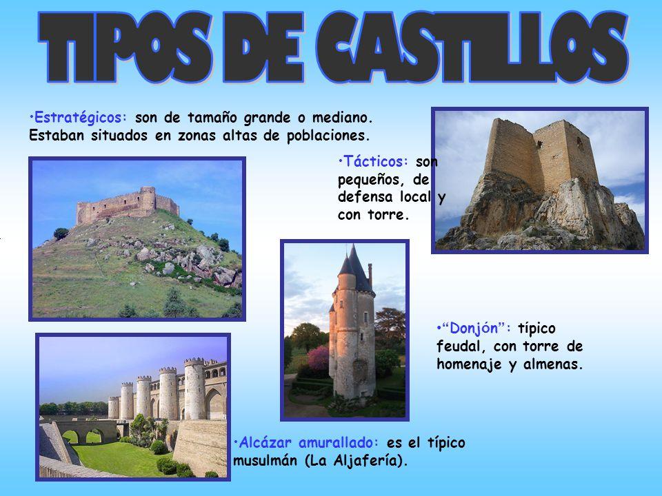 Mazmorras: son los sótanos de las torres de los castillos. En realidad eran almacenes y no cárceles como se piensa en la actualidad. En este recinto s