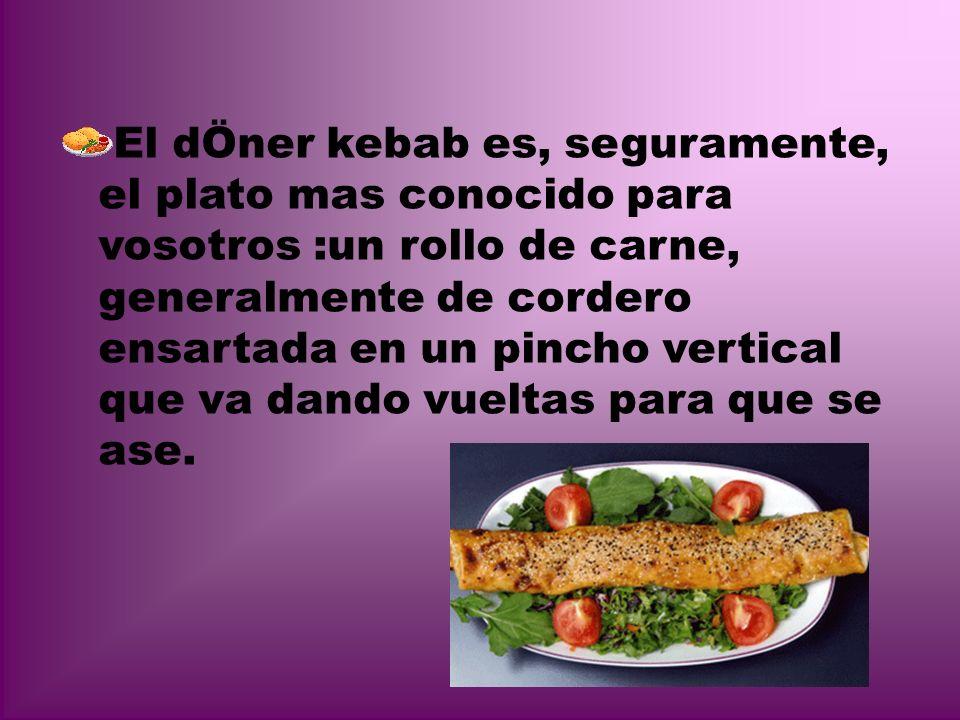 *Platos* Meze: quiere decir aperitivos o entre- meses que son las verduras rellenas de arroz, piñones y pasas