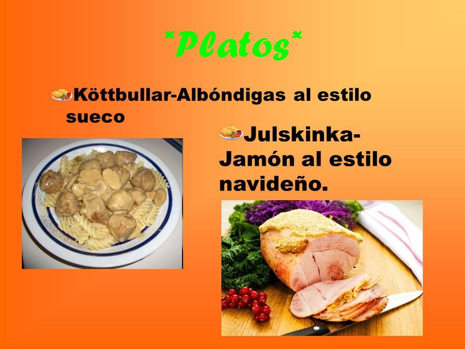 La gastronomía en general La cocina sueca ha logrado recientemente enormes éxitos y ha absorbido influencias de todo el mundo. Los chefs y dueños de r