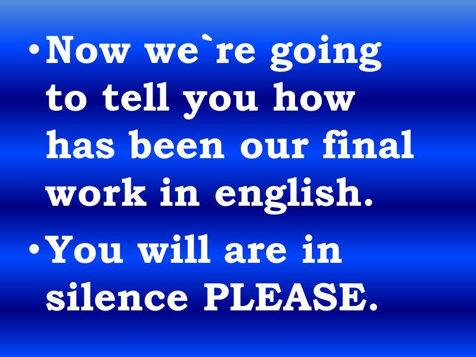 FIN Esperamos que nuestro trabajo os haya gustado y que hayáis aprendido y asimilado todos los conceptos. GRACIAS POR VUESTRA ATENCIÓN.