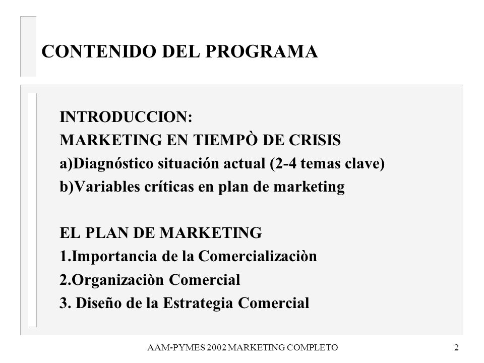 AAM-PYMES 2002 MARKETING COMPLETO3 EL MARKETING MIX 4.