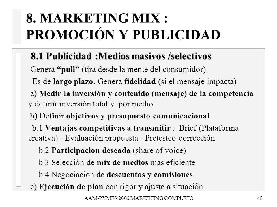 AAM-PYMES 2002 MARKETING COMPLETO49 8.