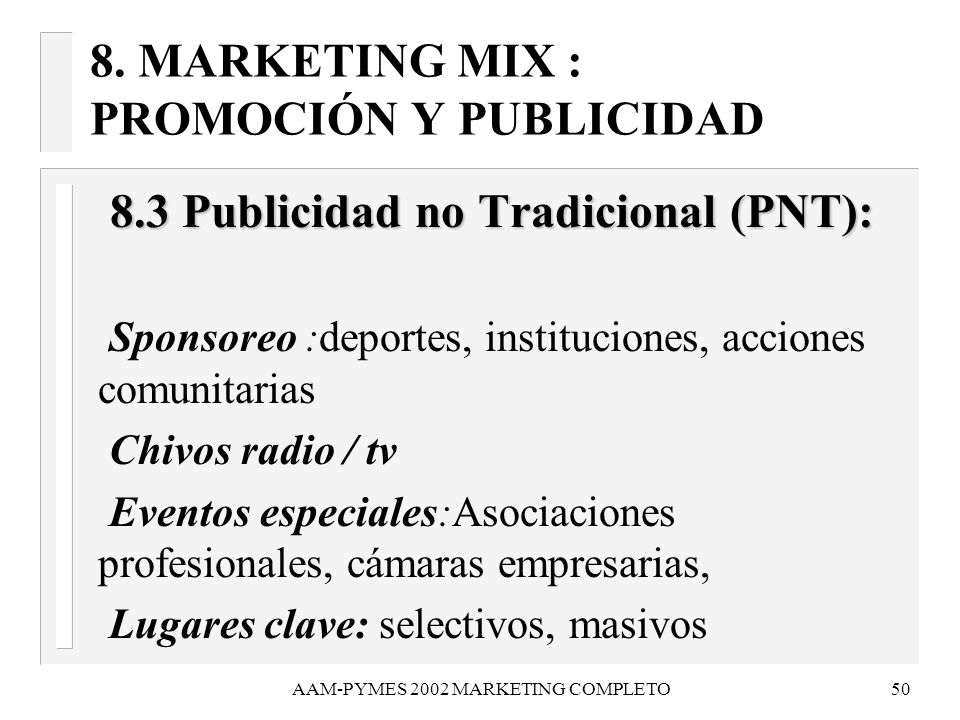 AAM-PYMES 2002 MARKETING COMPLETO51 8.