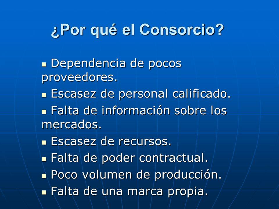 CONSORCIOS DE FEDEREXPORT: SECTORES DE PRODUCCION Equipos, Maq.