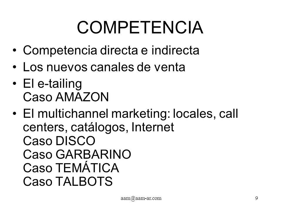 aam@aam-ar.com30 COMUNICACIONES, Cont.El nombre del local.