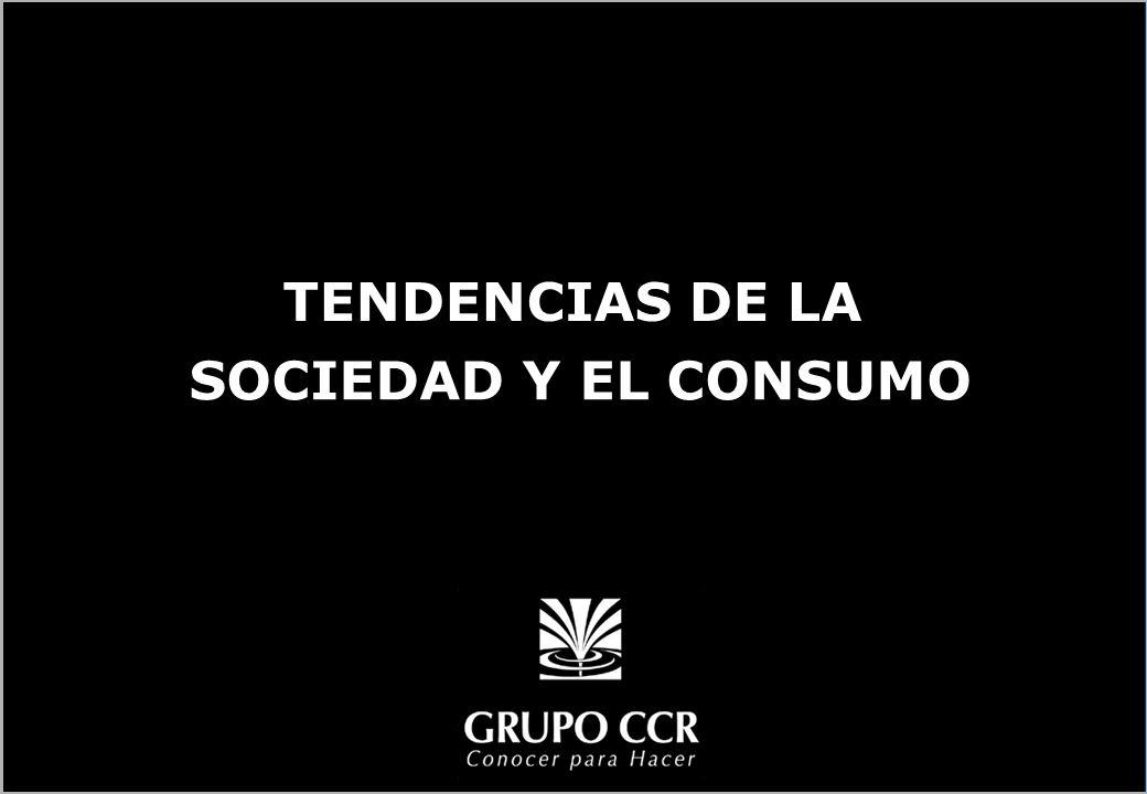 SOCIEDAD Y EL CONSUMO TENDENCIAS DE LA