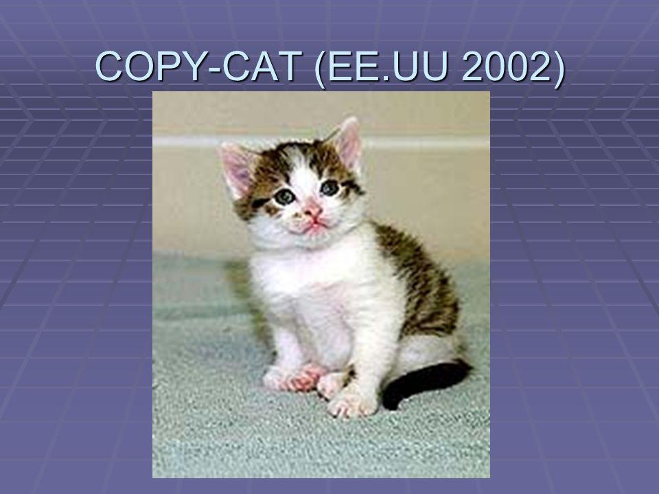 COPY-CAT (EE.UU 2002)