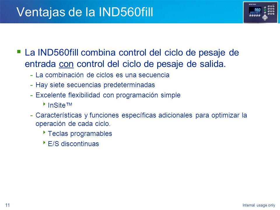 Internal usage only 9 Iconos de teclas programables nuevas (durante la secuencia) Aceptar tolerancia Pesaje de entrada de avance sucesivo manual Pesaj