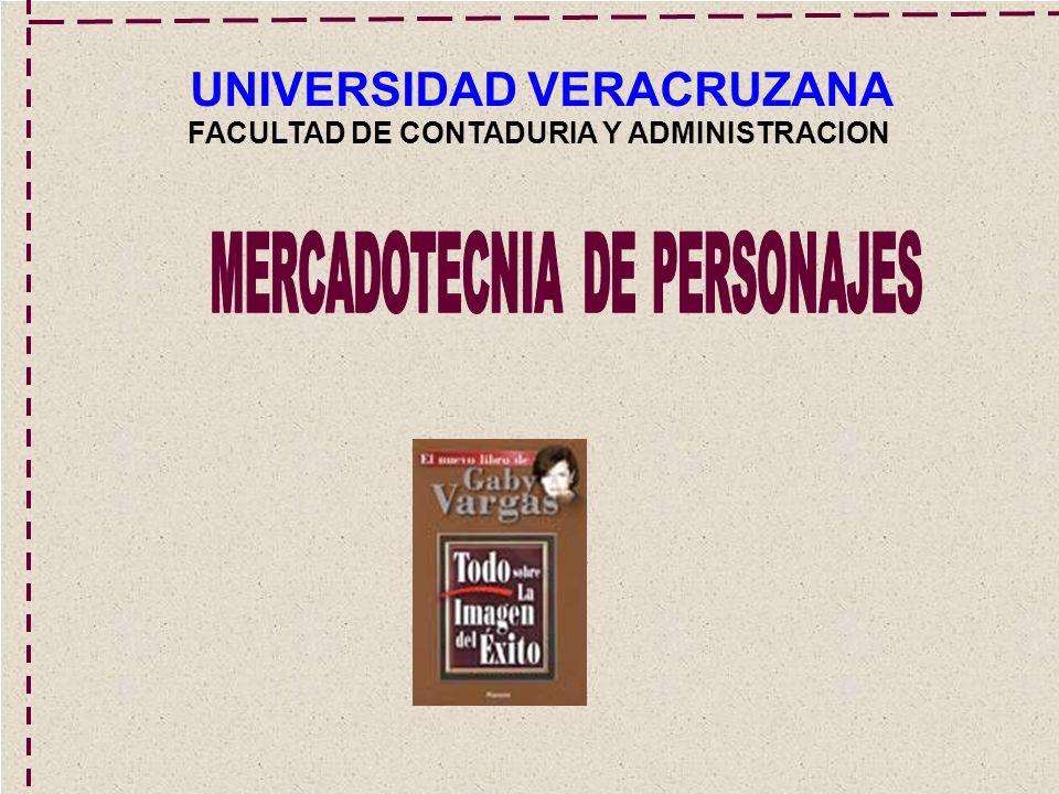 UNIVERSIDAD VERACRUZANA FACULTAD DE CONTADURIA Y ADMINISTRACION