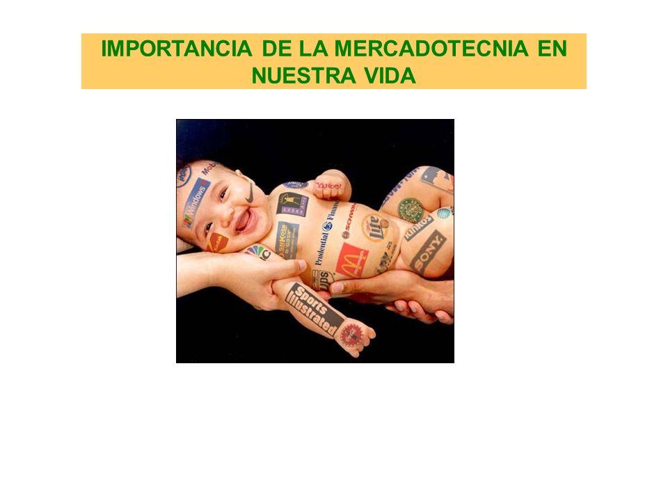 IMPORTANCIA DE LA MERCADOTECNIA EN NUESTRA VIDA
