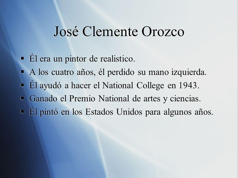 La Épica del Civilización Americana por José Clemente Orozco