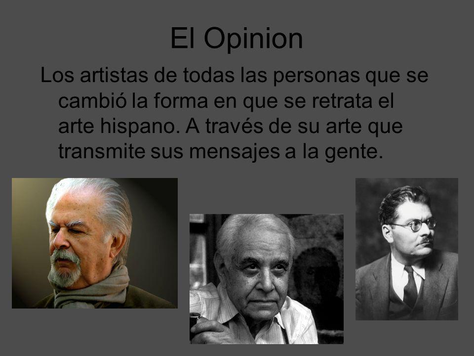 El Opinion Los artistas de todas las personas que se cambió la forma en que se retrata el arte hispano. A través de su arte que transmite sus mensajes