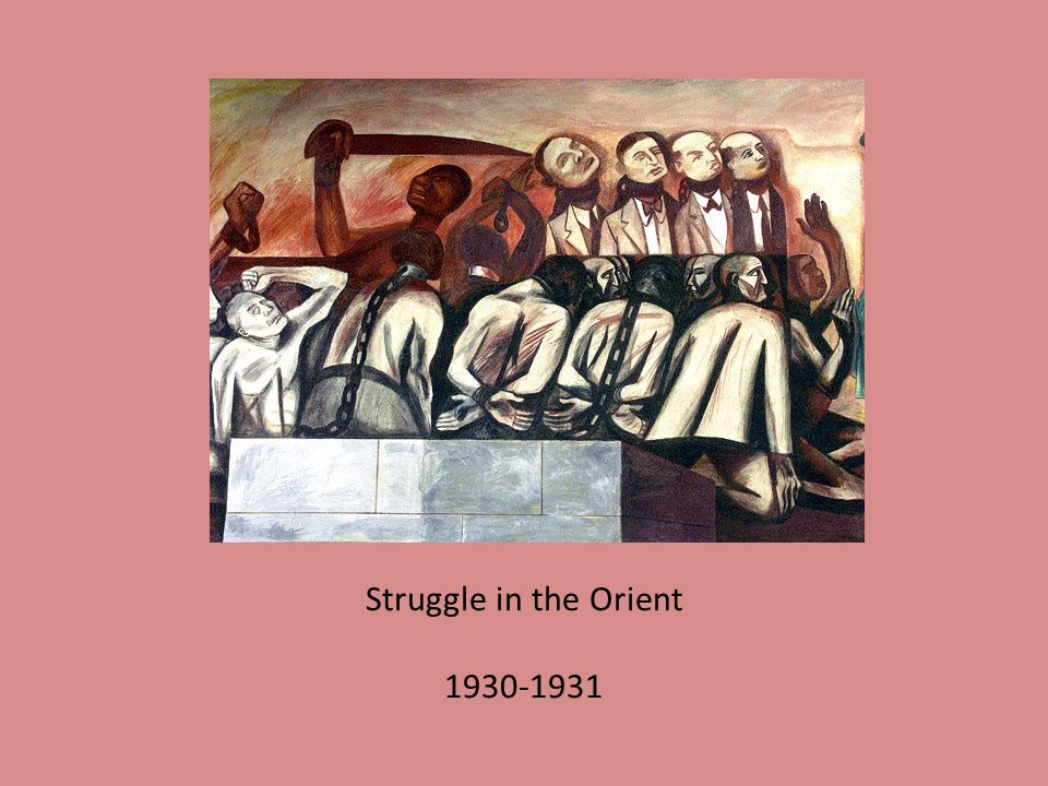 Struggle in the Orient 1930-1931