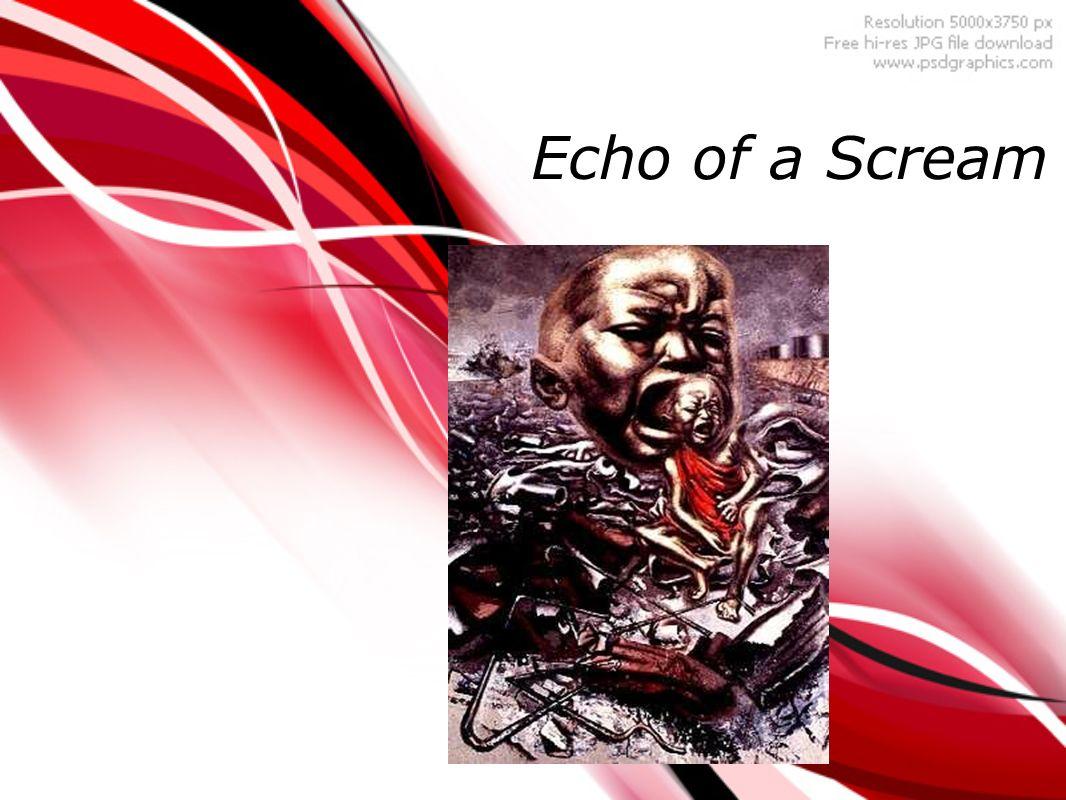 Descripcion de la Obra Echo of a Scream Fue pintada en 1937 El mural es importante porque es su obra mas famosa.