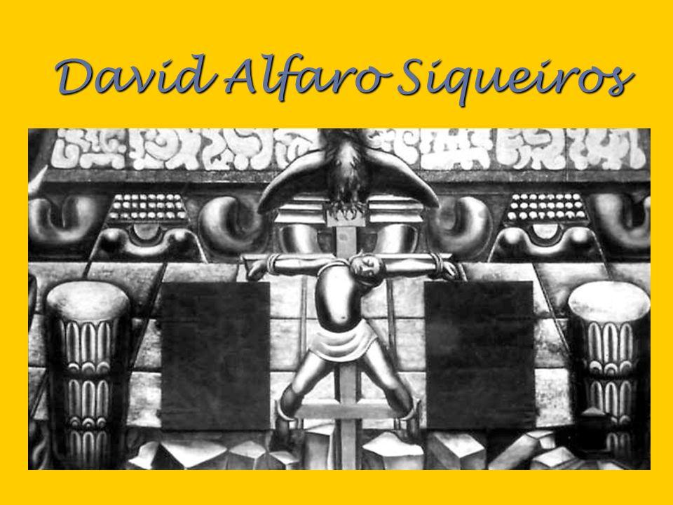 Tropical América 1932 1932 Un indio, representando opresión en los Estados Unidos, esta crucificado en una cruz.