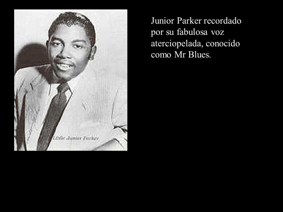 Junior Parker recordado por su fabulosa voz aterciopelada, conocido como Mr Blues.
