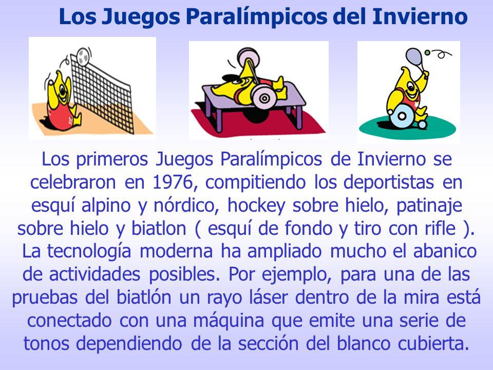 otro ejemplo son las sillas de ruedas con una alta maniobrabilidad que permiten a los jugadores moverse con soltura en tenis de mesa y baloncesto.