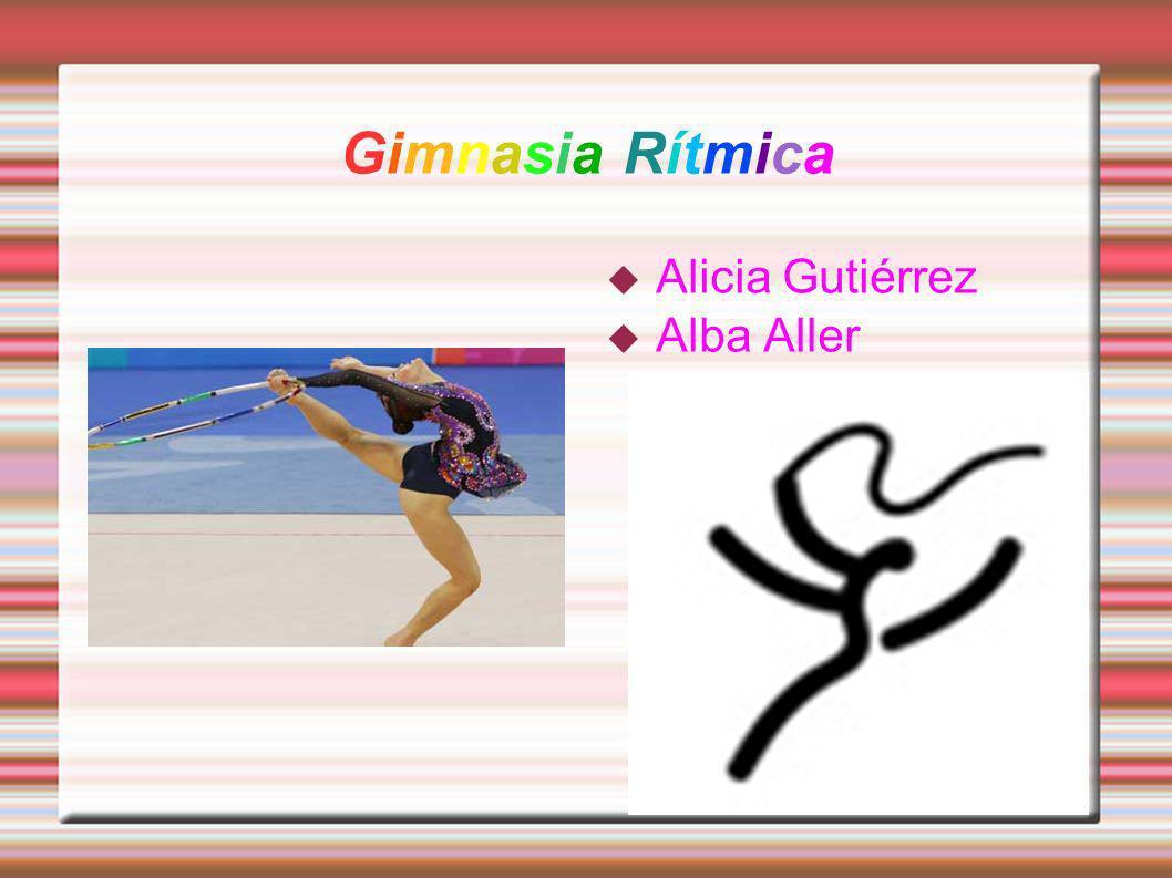 Su historia La gimnasia rítmica se desarrolló a finales de la década de 1950.Se caracteriza por tener pelotas, mazas, aro, cuerda y cinta.