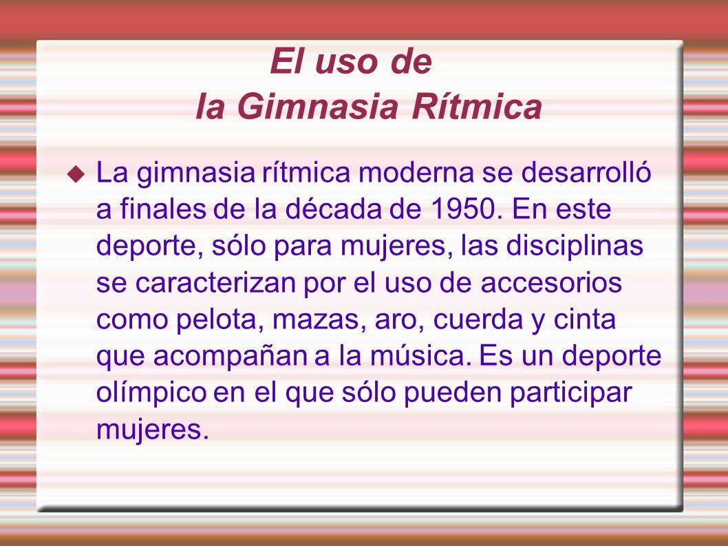 La Gimnasia Rítmica Raquel Mayo Y Ana Belén Vela.
