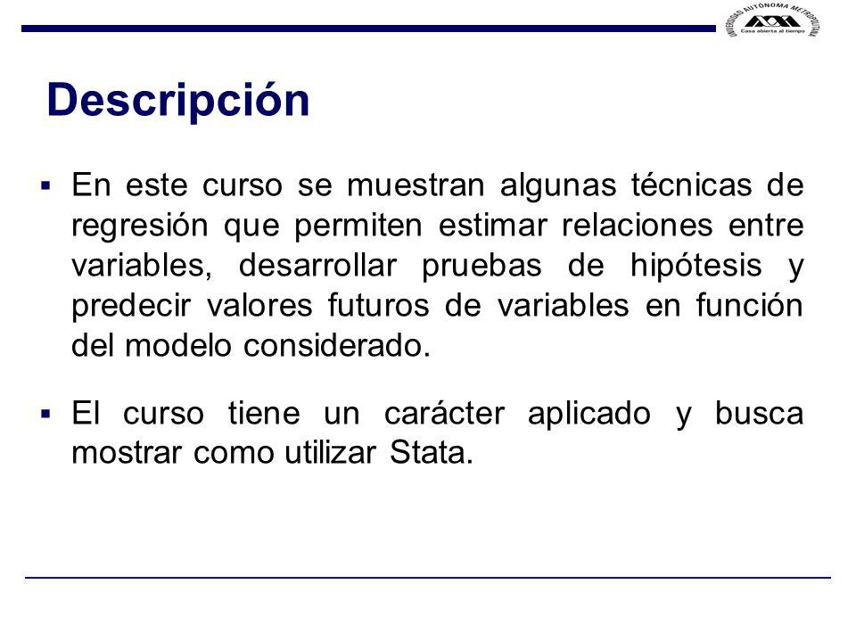F.VELA / J. F. ISLAS / Temas Modelo de regresión lineal simple.