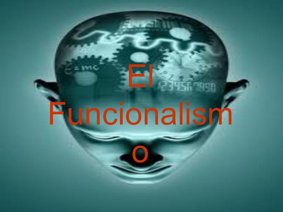 El Funcionalism o
