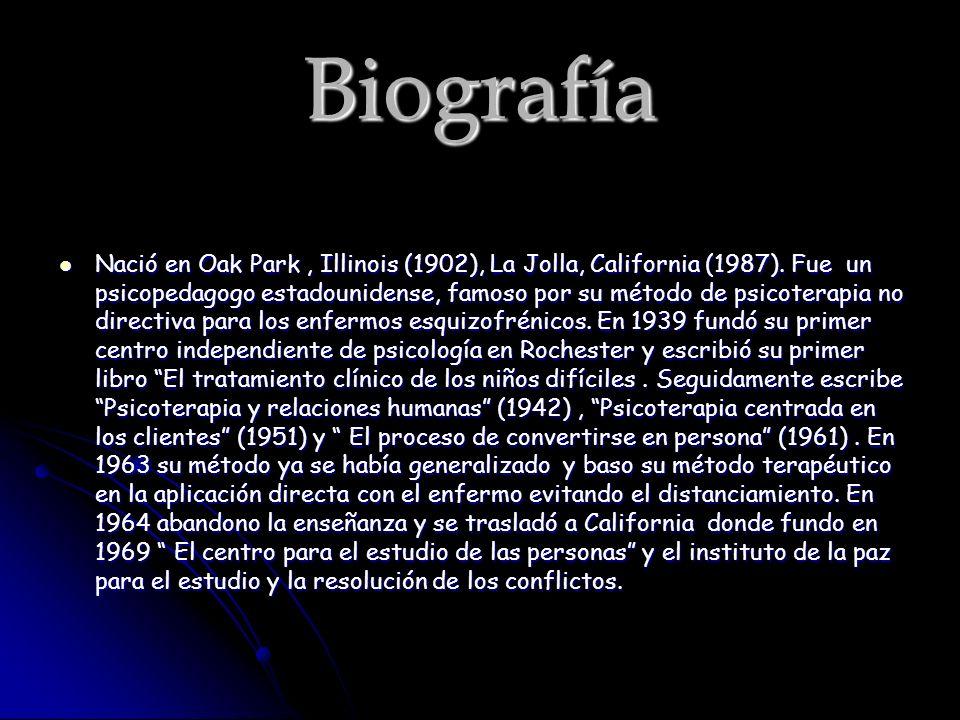 Biografía Nació en Oak Park, Illinois (1902), La Jolla, California (1987).