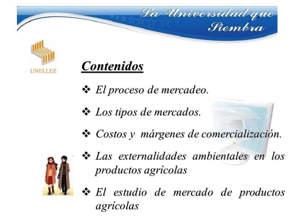 Estrategias de Aprendizaje Uso de material impreso Se utilizará como guía el texto titulado Comercialización de Productos Hortícolas-manual de consulta e instrucción para extensionistas publicado por la FAO en 1990 y reimpreso en 1992.