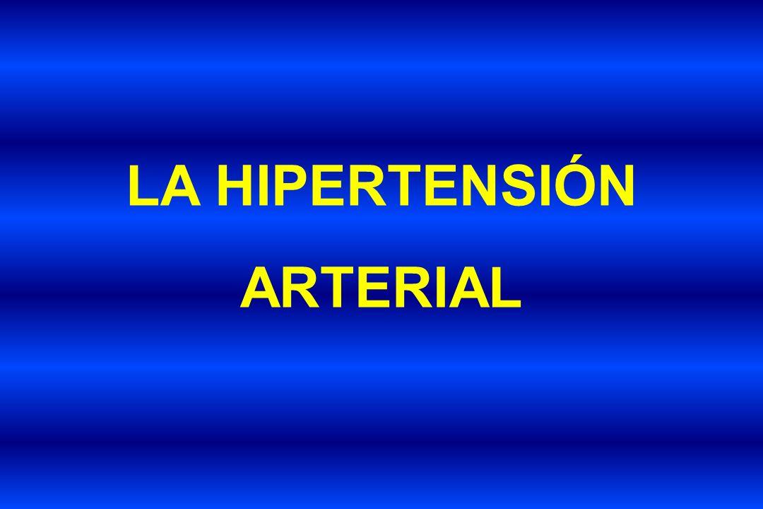 HIPERTENSIÓN ARTERIAL ENFERMEDAD MULTISISTÉMICA Daños a órganos blanco.