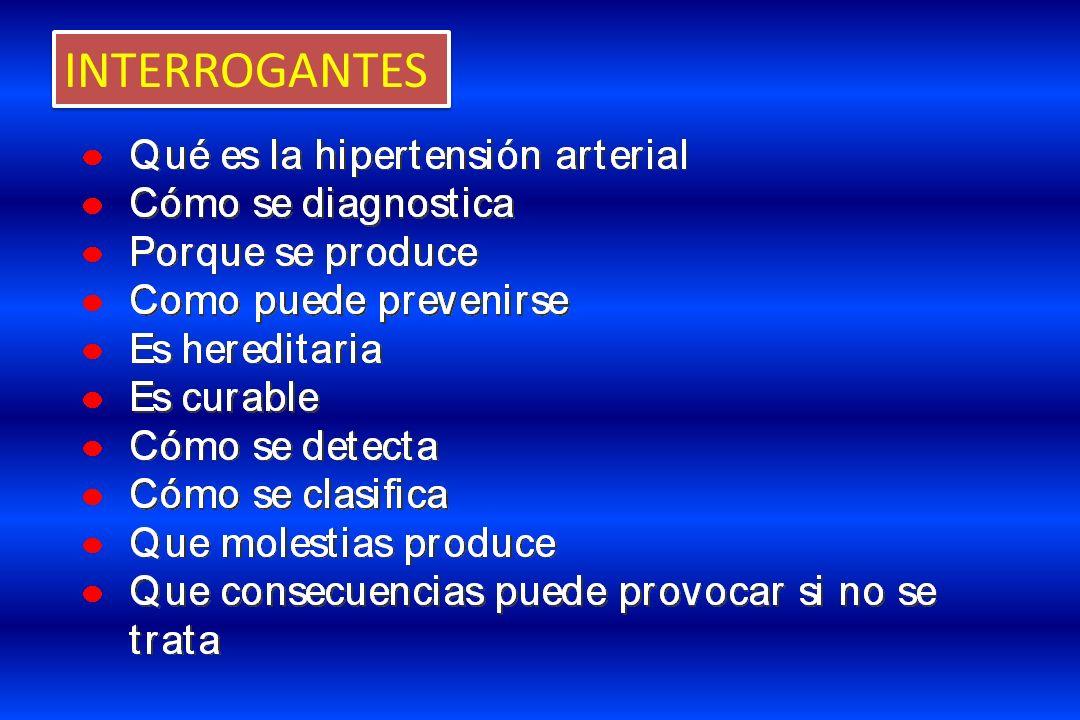 Entre los 20 y 30 años es predominantemente diastólica, entre los 30 y 60 años es predominantemente sistodiastólica y a partir de los 60 es frecuente la sistólica pura.