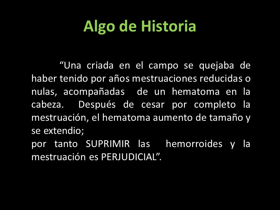 Algo de Historia A estas conclusiones llego John Storch, médico aleman hacia 1730, cuando publico las historias clínicas de sus pacientes.