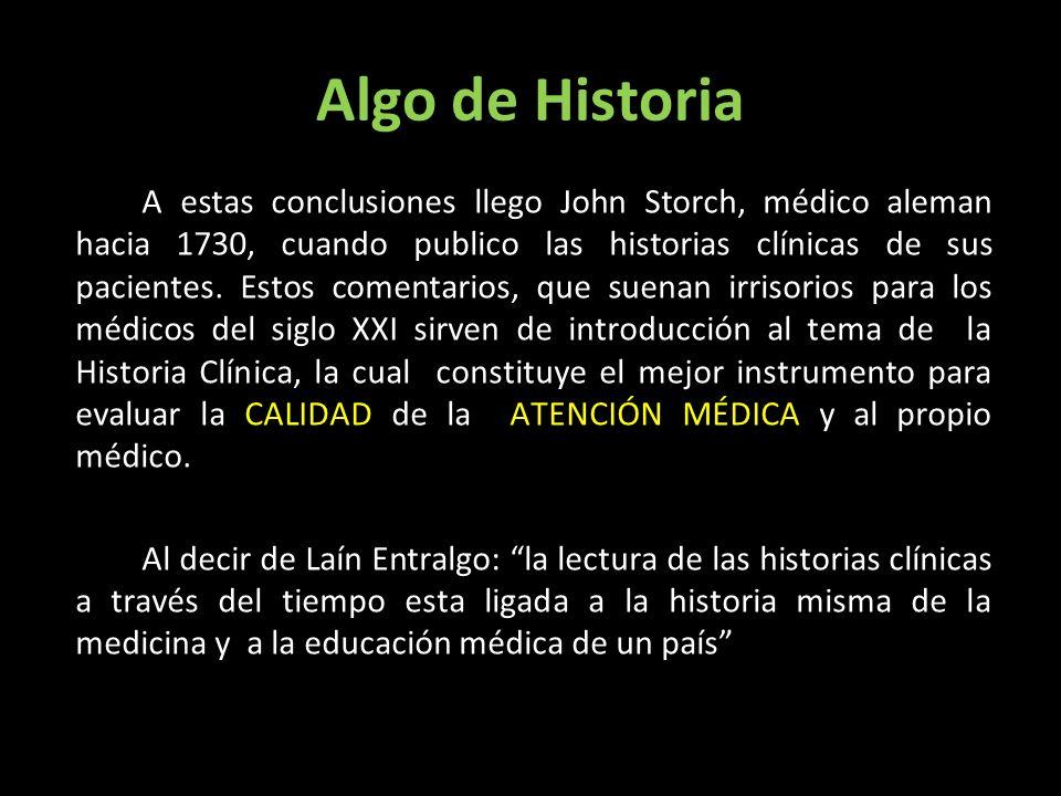 Algo de Historia A estas conclusiones llego John Storch, médico aleman hacia 1730, cuando publico las historias clínicas de sus pacientes. Estos comen