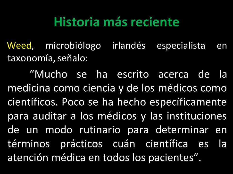 Historia más reciente Weed, microbiólogo irlandés especialista en taxonomía, señalo: Weed, microbiólogo irlandés especialista en taxonomía, señalo: Mu