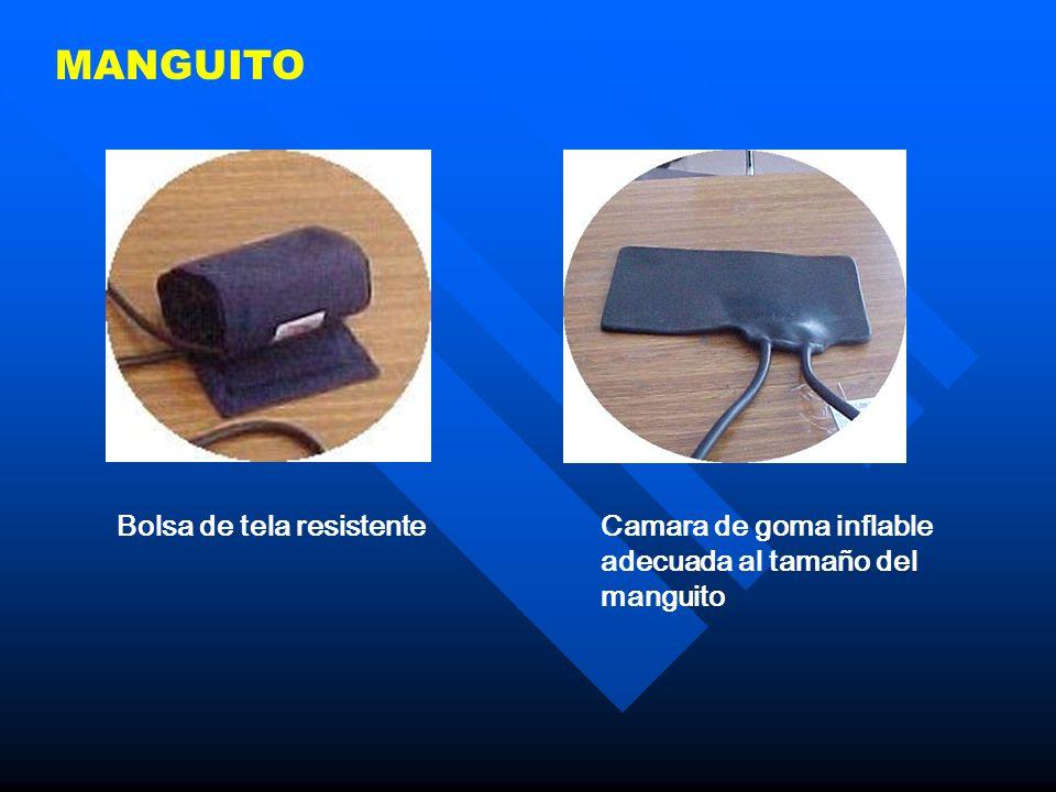 MANGUITO Bolsa de tela resistenteCamara de goma inflable adecuada al tamaño del manguito