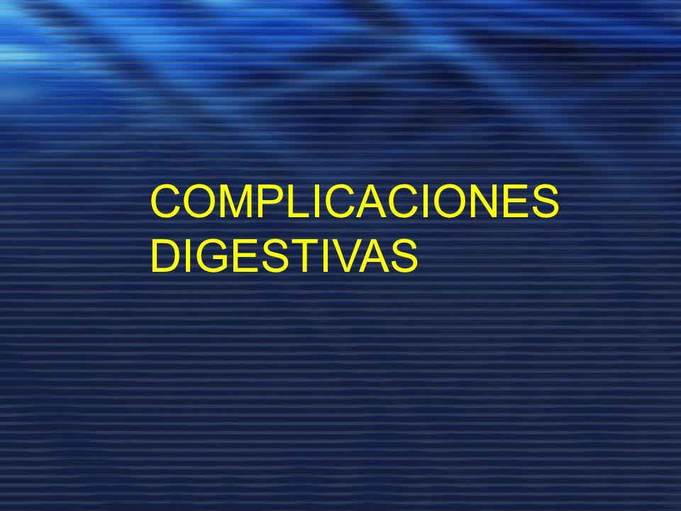 COMPLICACIONES DIGESTIVAS