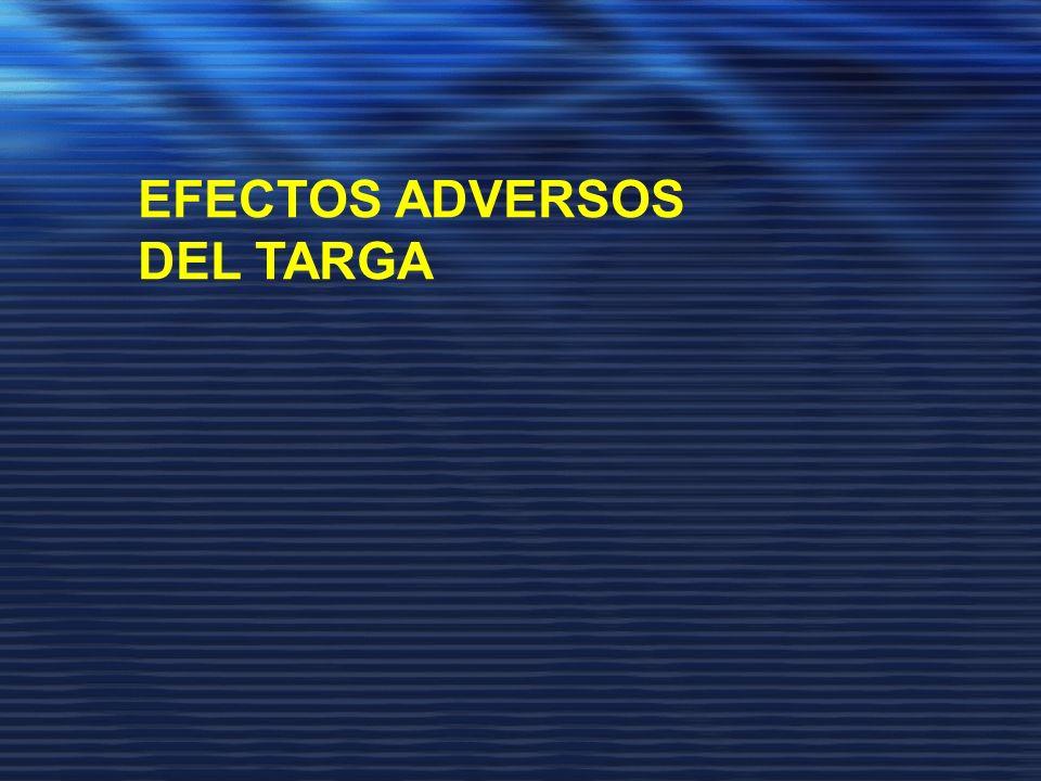 EFECTOS ADVERSOS DEL TARGA