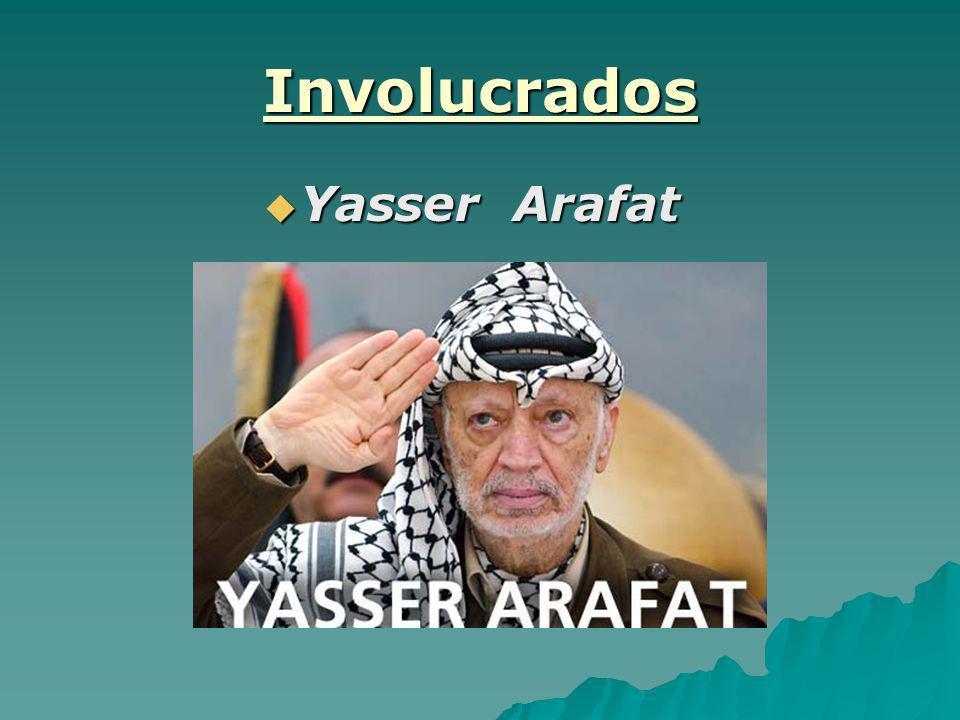 Involucrados Yasser Arafat Yasser Arafat