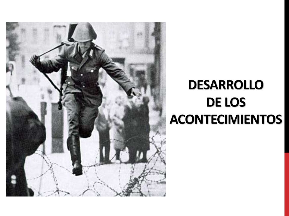 DESARROLLO DE LOS ACONTECIMIENTOS