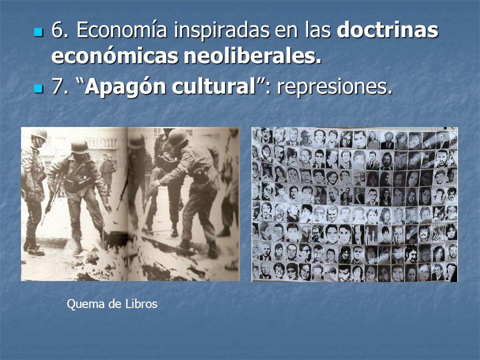 6.Economía inspiradas en las doctrinas económicas neoliberales.