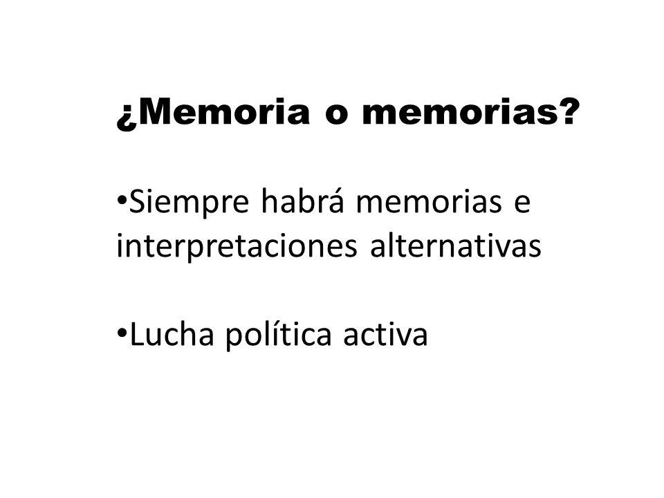 Elizabeth Jelin: Uno no recuerda solo sino con la ayuda de los recuerdos de otros y con los códigos culturales compartidos: Los recuerdos individuales