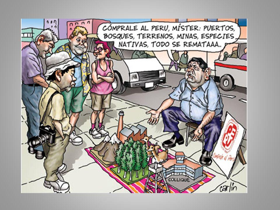 Comentarios críticos en artículo de Fernando Eguren Con claridad el presidente García va al fondo del problema: ¿quién debe disponer de los recursos naturales del país que, constitucionalmente, son de toda la nación.