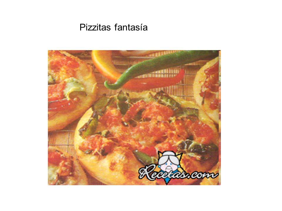 Pizzitas fantasía