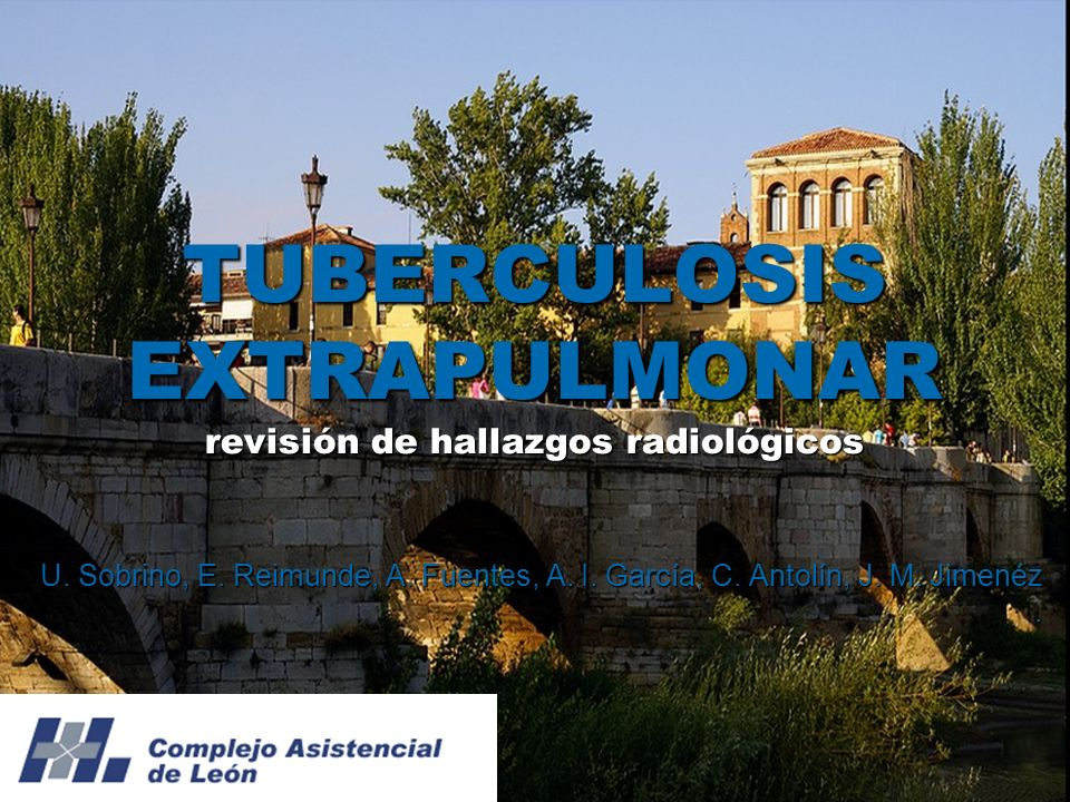 TUBERCULOSIS EXTRAPULMONAR La tuberculosis tenía una incidencia decreciente hasta los años noventa; donde volvió a aumentar.