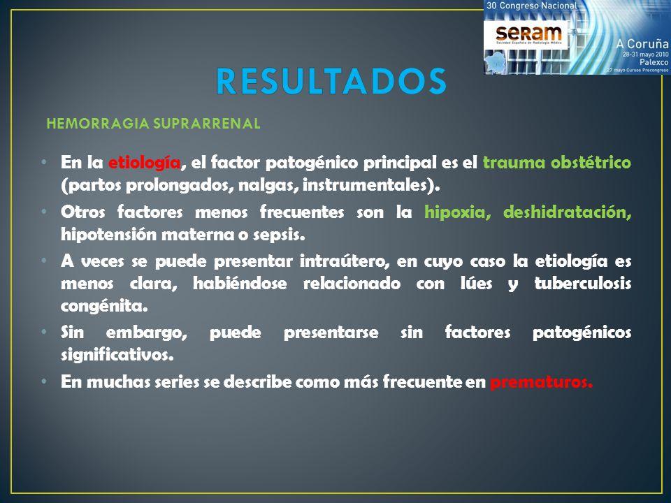 En la etiología, el factor patogénico principal es el trauma obstétrico (partos prolongados, nalgas, instrumentales). Otros factores menos frecuentes