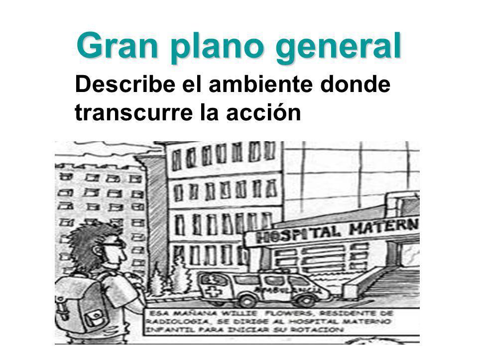 Plano general Hay menos referencias al ambiente, cobrando protagonismo la figura humana que se muestra de pies a cabeza ( .